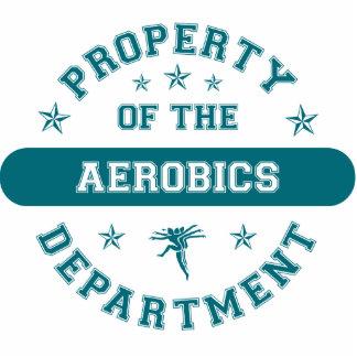 Propiedad del departamento de los aeróbicos esculturas fotográficas