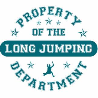 Propiedad del departamento de salto largo escultura fotográfica