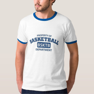 Propiedad del departamento del baloncesto playeras