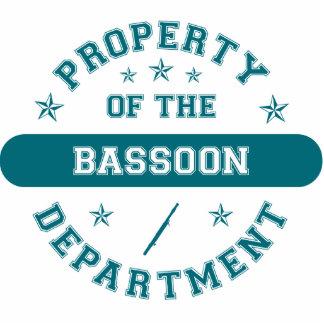 Propiedad del departamento del Bassoon Adorno Fotoescultura