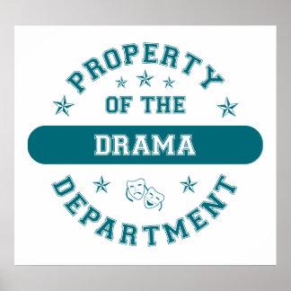 Propiedad del departamento del drama poster