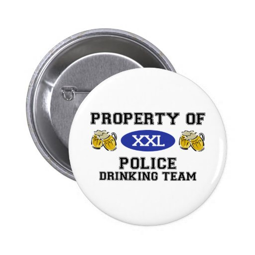 Propiedad del equipo de consumición de la policía pin
