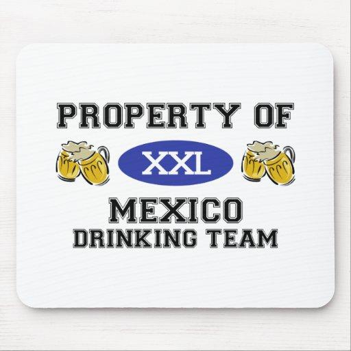 Propiedad del equipo de consumición de México Alfombrilla De Ratones
