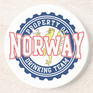 Propiedad del equipo de consumición de Noruega Posavasos Manualidades