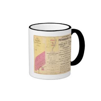 Propiedad del funcionamiento de la cereza tazas de café