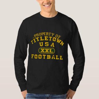 Propiedad del fútbol de Titletown los E.E.U.U. XXL Remeras