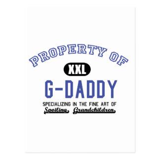 Propiedad del G-Papá Tarjetas Postales