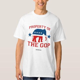 PROPIEDAD del GOP - humor de Politiclothes - .png Remeras