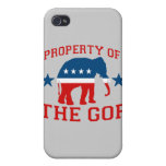 PROPIEDAD DEL GOP iPhone 4 PROTECTOR