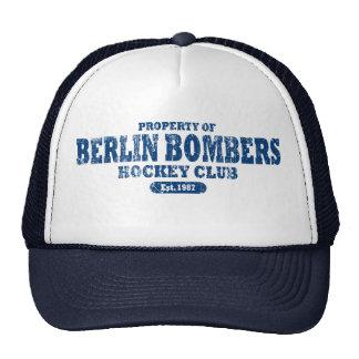 Propiedad del gorra de béisbol de los bombarderos