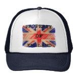 Propiedad del gorra de Inglaterra
