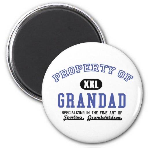 Propiedad del Grandad Iman Para Frigorífico