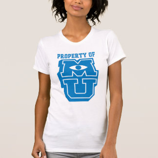 Propiedad del logotipo de MU Camiseta