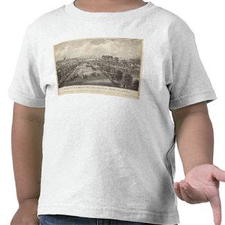 Propiedad del nanovatio Morris, opinión del mar, Camisetas