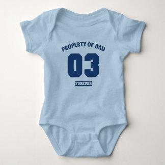 Propiedad del papá o3 para siempre t-shirts