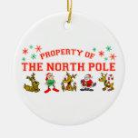 Propiedad del Polo Norte Adorno Para Reyes