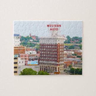 Propiedades horizontales autos occidentales Kansas Puzzle Con Fotos