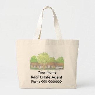 Propiedades inmobiliarias bolsa tela grande