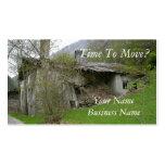 Propiedades inmobiliarias o tarjeta de visita móvi
