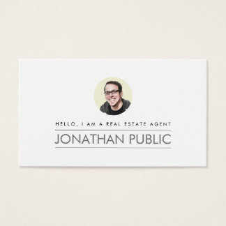 Propiedades inmobiliarias profesionales modernas tarjetas de visita