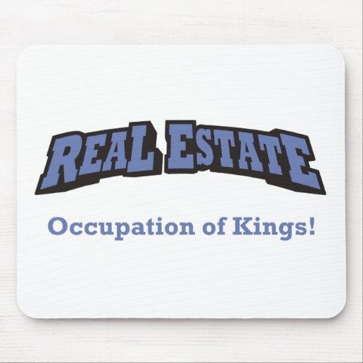 Propiedades inmobiliarias/rey tapete de ratón