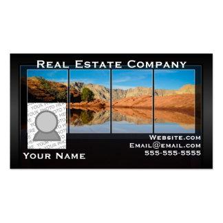 Propiedades inmobiliarias y su tarjeta de visita d