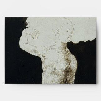 Proportion Study of Human Figure by Durer Envelope