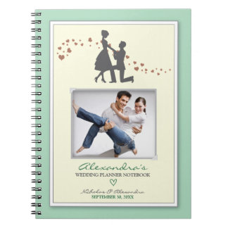 Proposal Bride's Wedding Planner Notebook (mint)