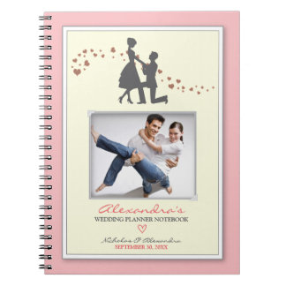 Proposal Bride's Wedding Planner Notebook (pink)
