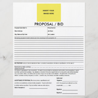 Proposal Form Deluxeforms Blank Template