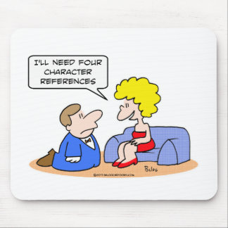 proposal four character references mouse pad
