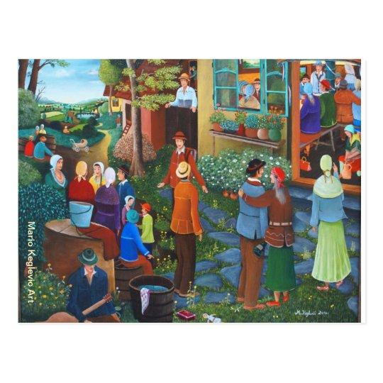 Proposal, Mario Keglevic Art Postcard