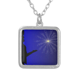 Proposal of Marriage Silver Plated Necklace