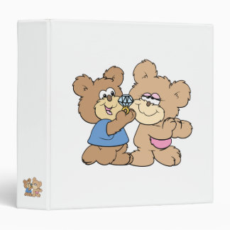proposal wedding bears binder