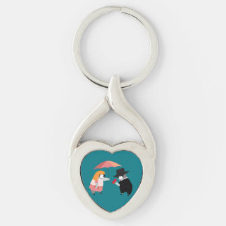 Propose Penguin Keychain