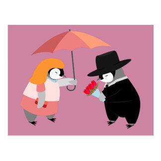 Propose Penguin Postcard