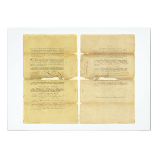 Proposed Amendments to the U.S. Constitution 1789 Custom Invites