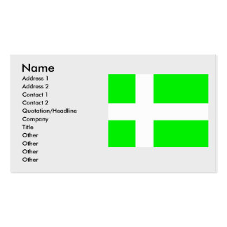 Proposed Greenland Denmark Business Card Templates