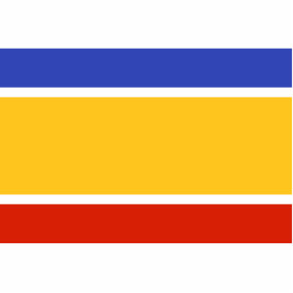 Proposed The United Cyprus Republic flag Acrylic Cut Outs