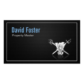 Props Property Master Manager Assistant Double-Sided Standard Business Cards (Pack Of 100)