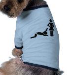 Propuesta de matrimonio divertida con una tarjeta  camisa de perro