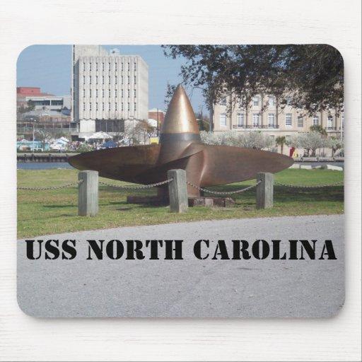 propulsor de USS del norte Mousepads