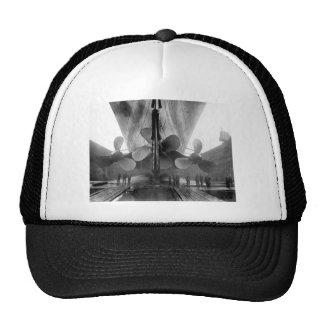 Propulsores titánicos gorras de camionero