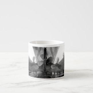 Propulsores titánicos taza de espresso