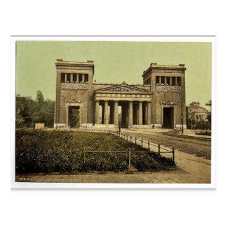 Propylaea, Munich, Baviera, Alemania Photochro rar Tarjetas Postales