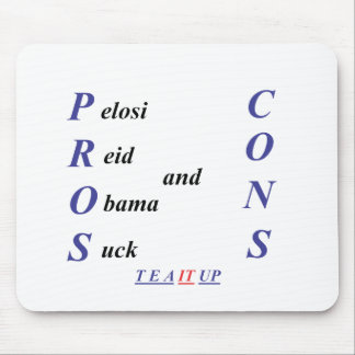 Pros and Cons Mouse Pad
