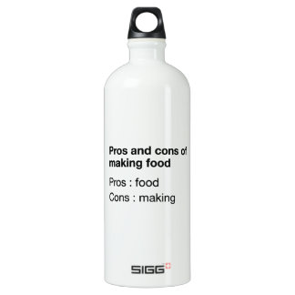 Pros And Cons Of Making Food Aluminum Water Bottle
