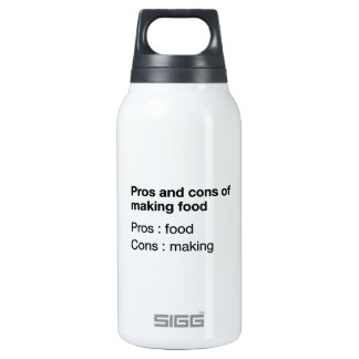 Pros And Cons Of Making Food Thermos Bottle