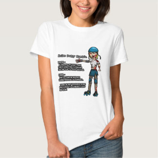 Pros and Cons Roller Derby Zombie Shirt