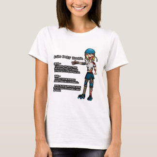 Pros and Cons Roller Derby Zombie T-Shirt